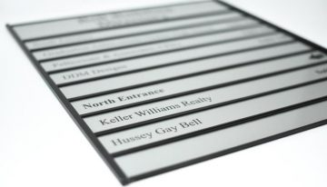 Tips You Need to Know for Directory Signs