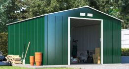 What are some of the types of sheds?