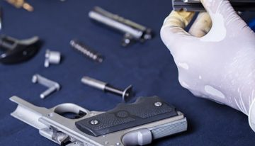 Keep your firearms clean with solvent devices