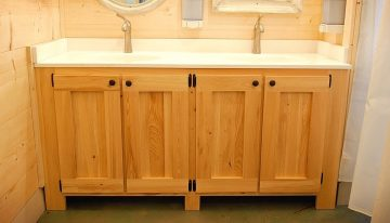 Materials used for making bathroom cabinets