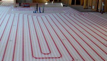 Advantages of floor heating