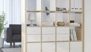 What are the potential benefits of cube storage shelves?